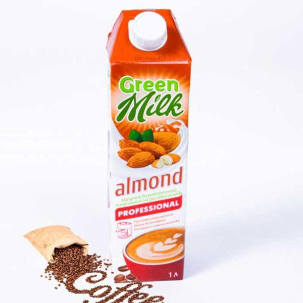 Молоко миндальное 1 литр