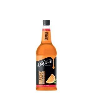 """Сироп """"Da Vinci"""" Апельсин – 1 литр"""