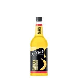 """Сироп """"Da Vinci"""" Банан – 1 литр"""