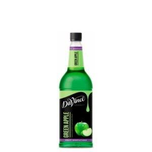 """Сироп """"Da Vinci"""" Зеленое Яблоко – 1 литр"""