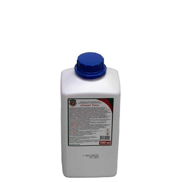 Спиртовой кожный антисептик «СанитУно» - 1 литр