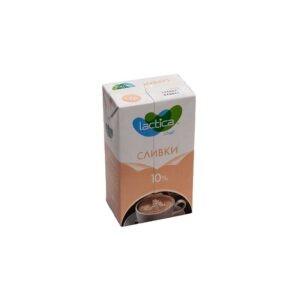 Сливки «Lactica» 10% 1 литр
