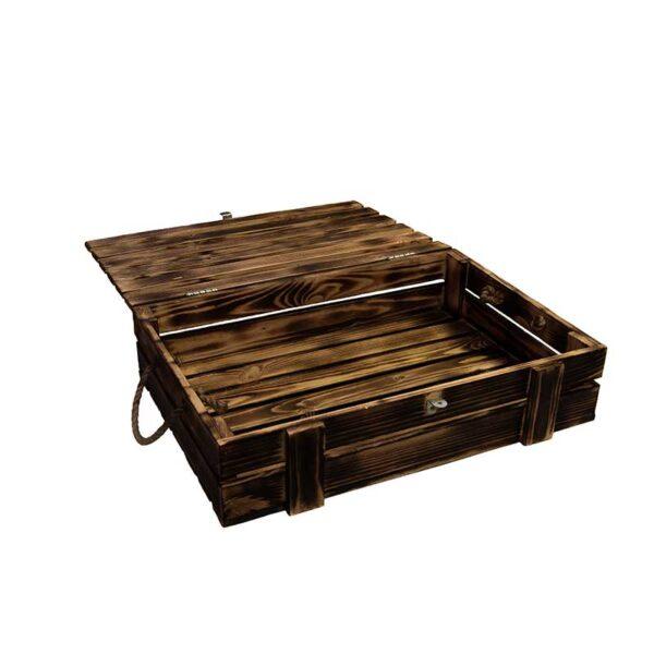 Деревянный ящик (малый) в стиле лофт для подарка
